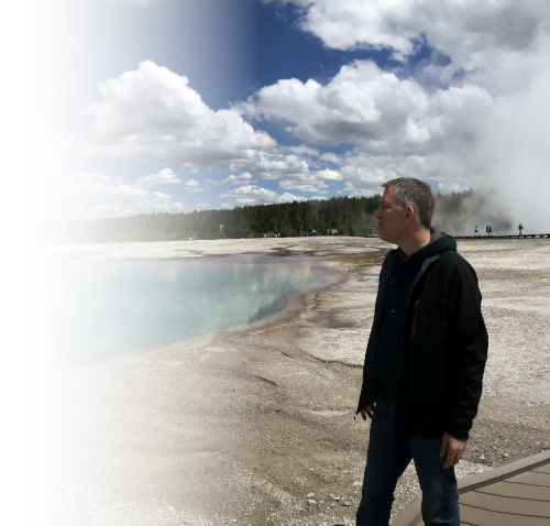 J Paul Hendricks at Yellowstone fade