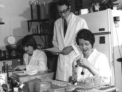 Laboratory Technicians Testing