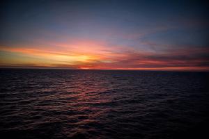 Sea of SEO, Ocean of Data, Sunset