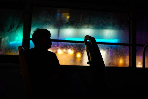 riding with wall street bets apes - night bus